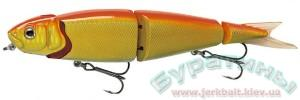 Джеркбейт Savage Gear 4Play Swim&Jerk 13см 20-Fluo Orange & Gold