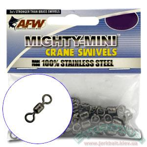 Вертлюжок AFW Mighty-Mini Stainless Steel Crane Swivels #10 (5шт.)