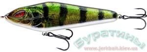 Джеркбейт Daiwa Prorex Lazy Jerk 15,5cm #Live Perch